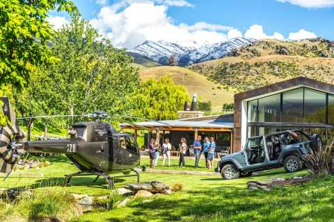 Queenstown: Central Otago Wine Tour by Private Helicopter