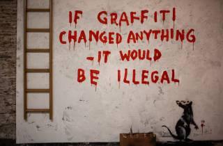 Barcelona: Die Welt der Banksy, Immersive Experience Ticket
