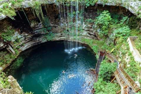 Chichén Itzá, Cenote Ik Kil e Valladolid com Tudo Incluso