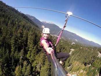 Whistler Zipline-Erlebnis: Ziptrek-Eagle-Tour