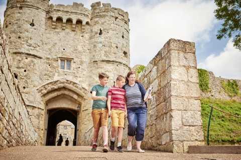 Isle of Wight: adgangsbillet til Carisbrooke Castle