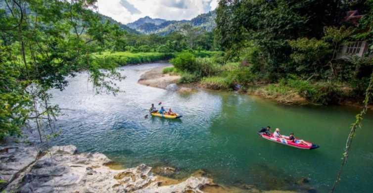 Khao Sok: Sok River Guided Canoeing Experience