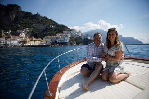 Sorrento: Private Amalfi Coast Boating Tour