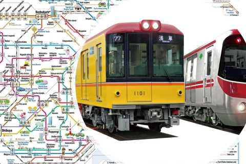 Tokyo: biglietto della metropolitana di 24 ore, 48 ore o 72 ore