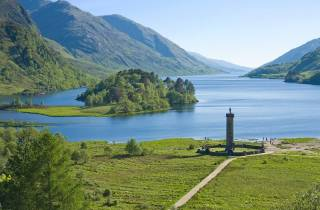 Von Glasgow: Glenfinnan Viaduct, Glencoe & Mallaig Tour