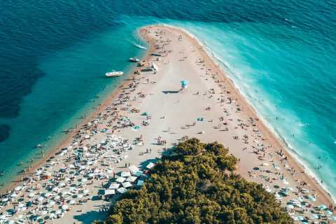 Brač Island Private Speedboat Tour from Split and Trogir