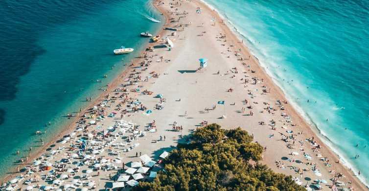 Brač Island Private Speedboat Tour from Split and Trogir