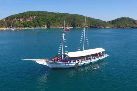 Búzios 2.5-Hour Schooner Boat Experience