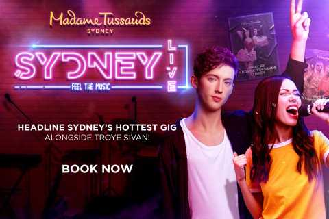 Sydney: Madame Tussauds Sydney General Admission