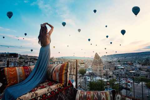 Heißluftballon und Best of Cappadocia City Tour