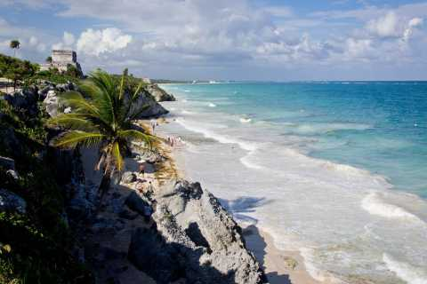Cancun: Tulum and Cenotes 5 Hour Guided Tour