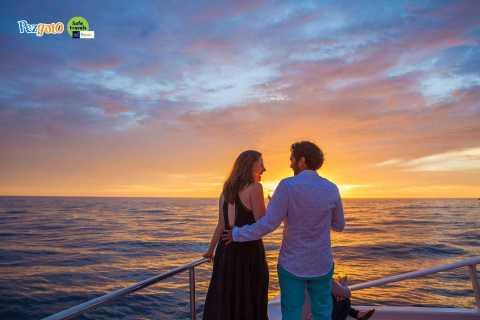 Cabo San Lucas: 2 uur Sunset Cruise met eten en wijn