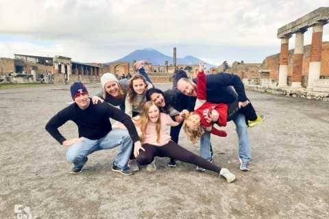 Vanuit Napels: excursie van een halve dag naar Pompeii