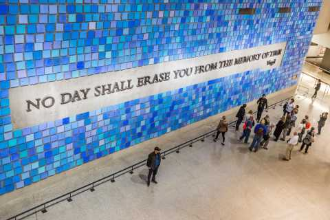 NYC: 9/11 Memorial Museum - zeitgesteuertes Ticket
