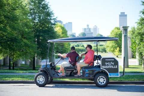 Nashville: Sights, Street Art & Brewery Tour by Golf Cart
