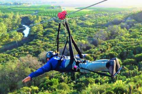Addo-Nationalpark: Superman-Zipline