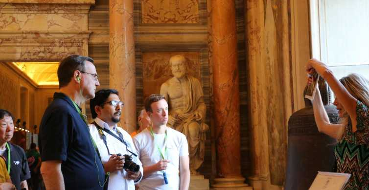 Vatican Museum In Depth Tour with Sistine Chapel