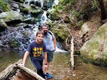 Asheville: Geführte Wasserfallwanderung