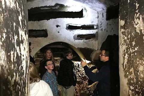 Rome: Catacombs and Capuchin Crypt Tour