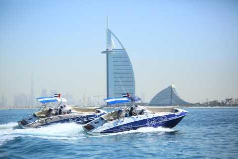 Dubai Marina: Privat bådtur og sightseeing i Palm Jumeirah