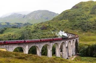 Ab Edinburgh: Hogwarts Express und Scottish Highlands Tour