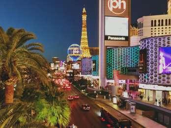 Las Vegas: Private Limousinen-Stadtrundfahrt mit Champagner