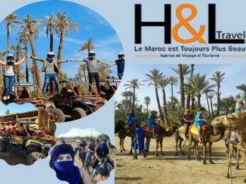 Marrakesch: Dünen-Buggyfahrt & Kamelritt Halbtagestour