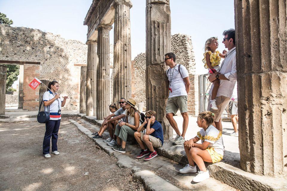 Całodniowa wycieczka do Pompejów i Wezuwiusza