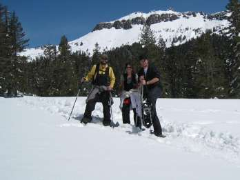 Lake Tahoe: Schneeschuh-Führung