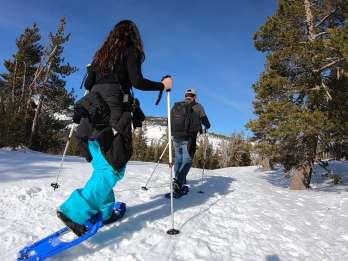 Lake Tahoe: Lieferung von Schneeschuhausrüstung