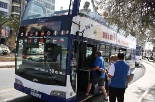 Malta: Hop-On-/Hop-Off-Bustour