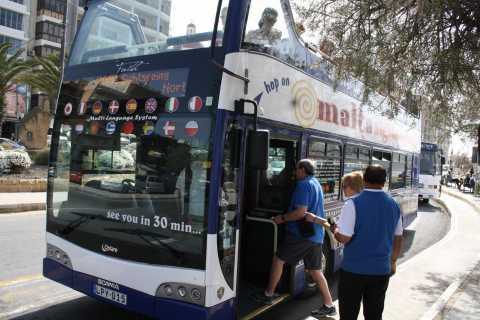 Мальта: тур на hop-on hop-off автобусе