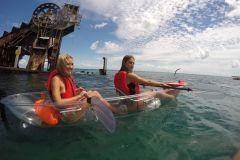 Aventura de 1 Dia: Naufrágio Ilha Moreton, Dunas e Caiaque