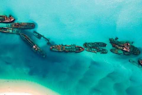 Moretonin saaren haaksirikko, hiekkadyyni ja kajakki 1päiväinen seikkailu