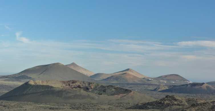 Lanzarote: vulkaanwandeling van 4 uur met vervoer