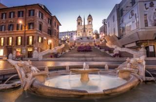Rom: 3 Stunden Rundgang am Abend
