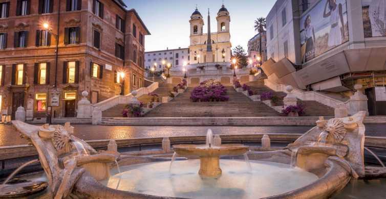 Rom: rundvandring i solnedgång på tre timmar