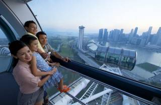 Singapur: Singapore Flyer-Eintrittskarte