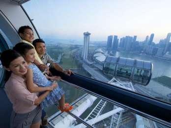 Singapur: Singapore Flyer-Eintrittskarte. Foto: GetYourGuide