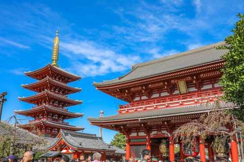 Tokyo: Asakusa's Shrine & Temples Private Walking Tour