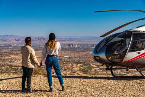 Las Vegas: Red Rock Canyon Helicopter Landing Tour
