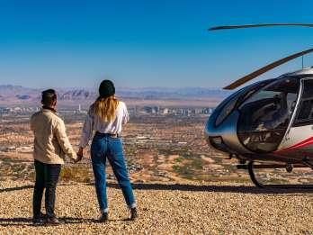 Las Vegas: Landungstour mit dem Red Rock Canyon Hubschrauber