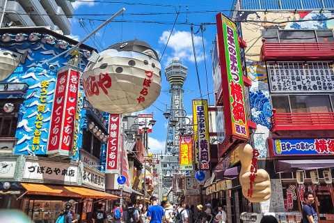Osaka: excursão particular guiada por transporte público