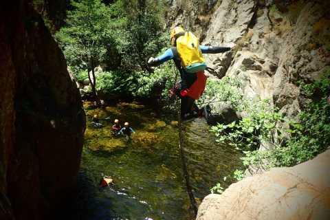 Propriano: Baracci Canyon Beginners Canyoning Tour