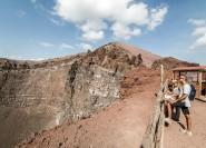 Ab Neapel oder Sorrent: Pompeji und Vesuv Ganztagestour