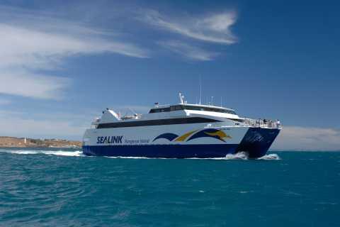 Cape Jervis: Kangaroo Island Return Ferry with Vehicle