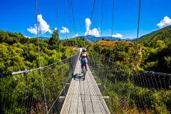 Arrowtown e Gibbston Valley: passeio de bicicleta autoguiado