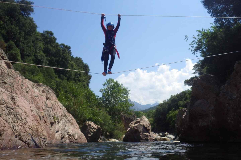 Korsika: Halbtägiges Aquatic-Hiking-Abenteuer in Gravona