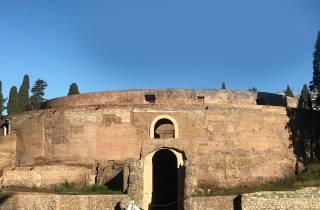 Rom: Eintrittskarte für das Mausoleum des Augustus