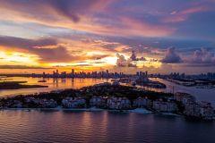 Miami: Sunset Cruise pela Biscayne Bay e South Beach
